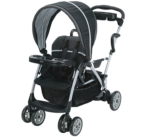 5. Graco Roomfor2 Click Connect Stand and Ride Stroller