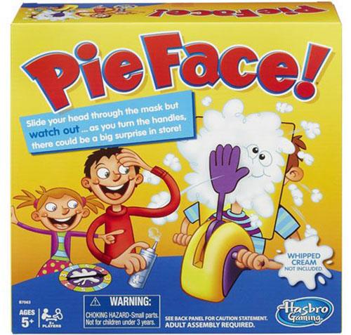 1. Hasbro Pie Face Game