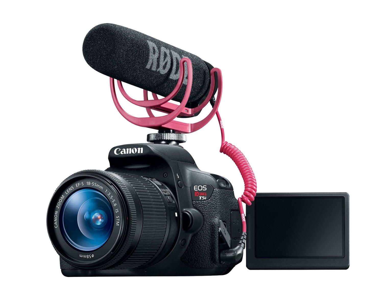 2. Canon EOS Rebel T5i Video Creator Kit