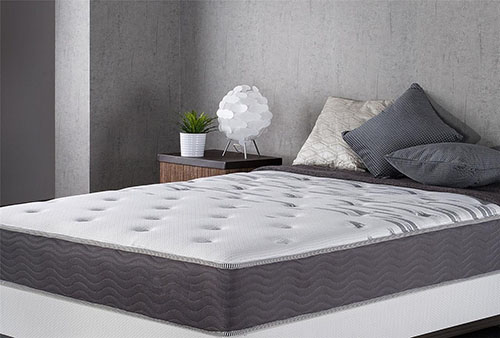 5. Zinus Extra Firm 10 Inch Big & Tall Support Plus Spring Mattress