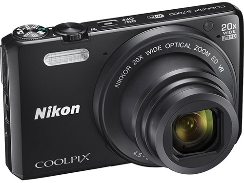 7. Nikon Coolpix S7000 Wi-Fi Digital Camera