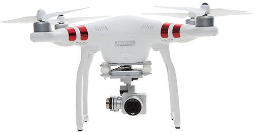 6. DJI Phantom 3 Standard Drone with HD Video Camera