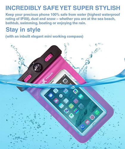 7. Voxkin Universal Waterproof Case