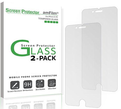 1. iPhone 6S Screen Protector, amFilm