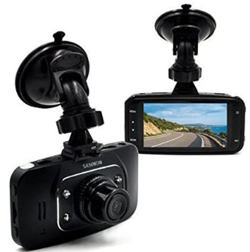 6. SENWOW HD Black Box Vehicle Camera