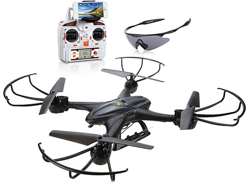 7. Holy Stone X400C Quadcopter Drone with Wifi Camera