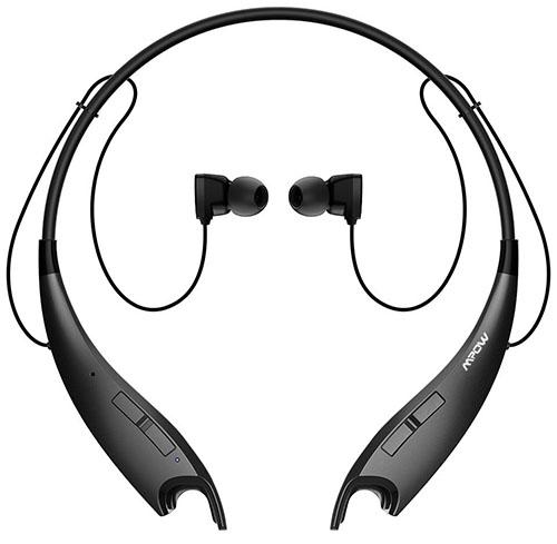 6. Wireless Neckband Bluetooth Headset