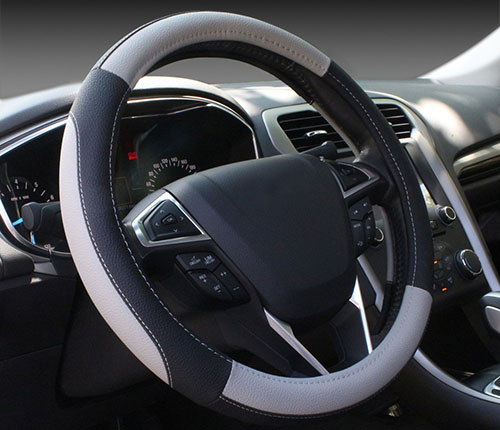4. Leather Auto Car Steering Wheel Cover