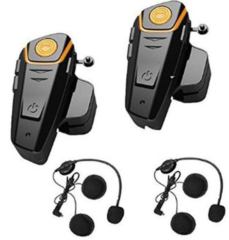 3. Motorbike Helmet Intercom Interphone Headset