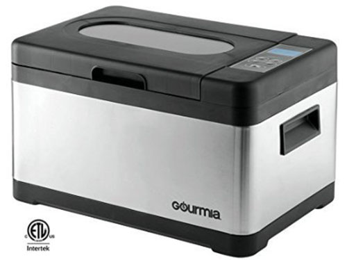6. Gourmia Sous Vide Self Contained Water Oven