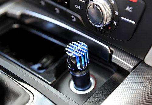 3TUPELO Car Air Purifier,Ionizer, Air cleaner, Car Air Freshener and Order Eliminator