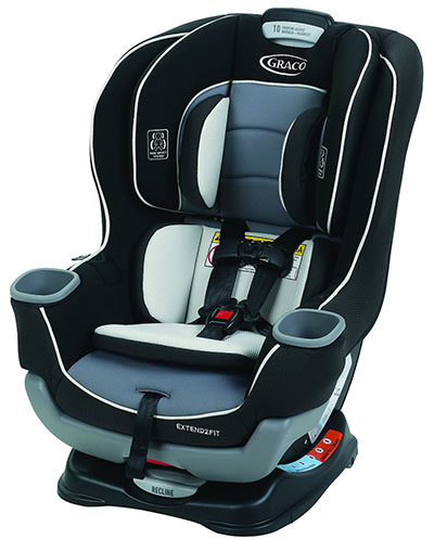 4. Extend2Fit Convertible Car Seat