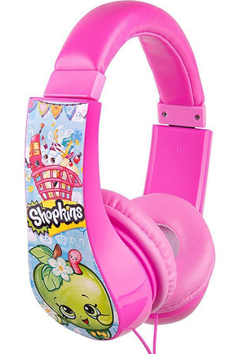 4. Shopkins Adjustable Volume Limiting Headphones