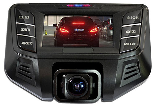 5. PowerLead Puda Dash Cam Dual Camera