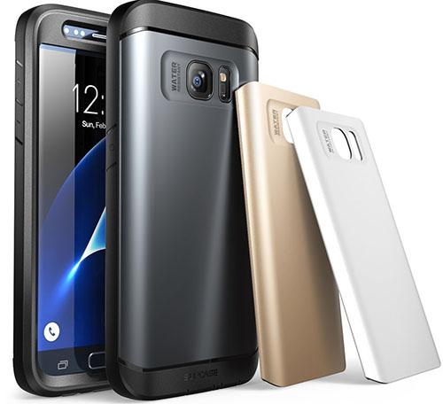 5. Galaxy S7 Case, Water Resistant Case