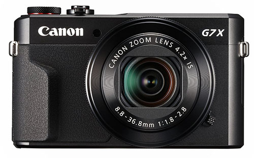 5. Canon PowerShot G7 X Mark II(Black)