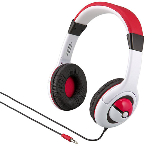 7. Pokemon Children Adjustable On-Ear Headphones