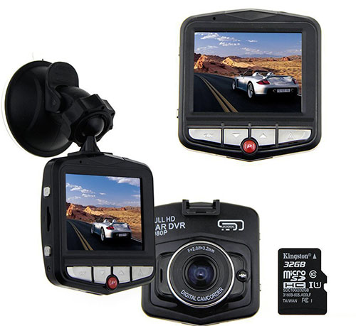 3. AUBBC Car Vehicle HD Dash Camera