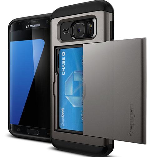 4. Galaxy S7 Edge Case, Spigen