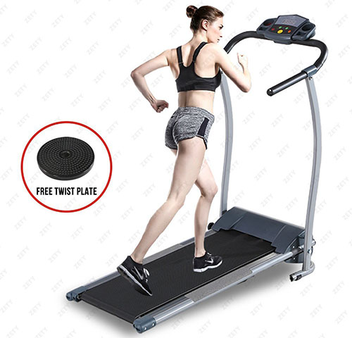 3. Fitnessclub Folding motorized Treadmill