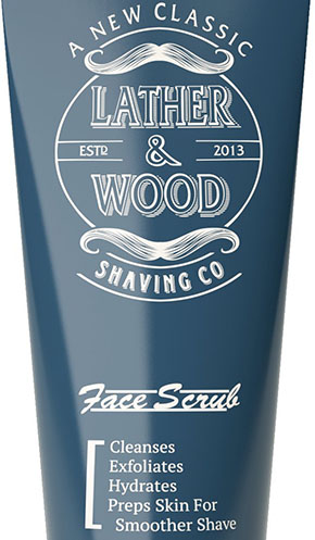 5. Lather & Wood's Face Scrub