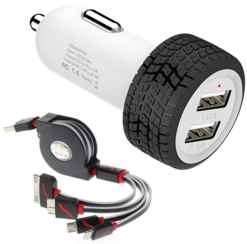 5. Powerful Dual USB Car Charger