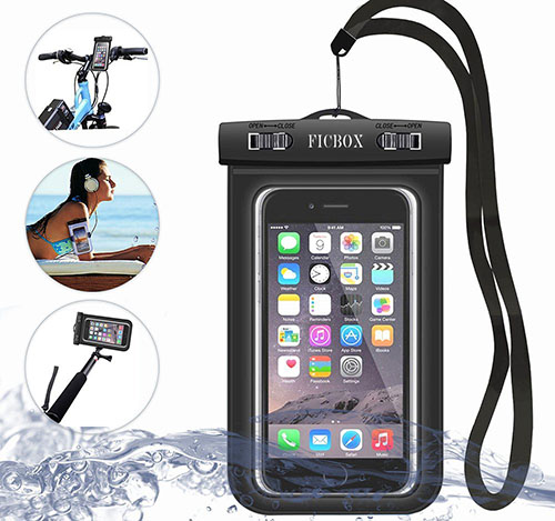 7. Waterproof Case, FicBox