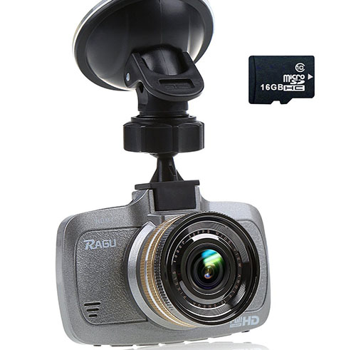2. Dash Cam HD Car DVR HD Video Car with G-sensor