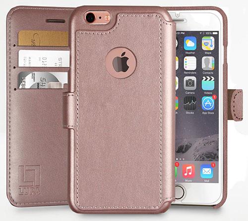 4. iPhone 6 Plus,6S Plus Wallet Case