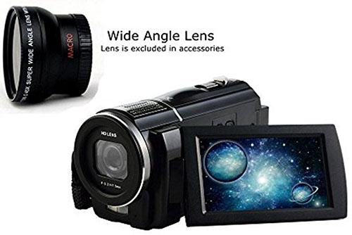 7. SEREE Full HD 1080p 30fps Camcorder