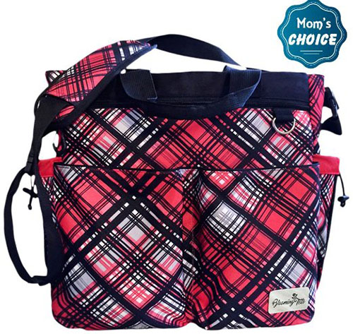 7. Diaper Bag with BONUS Mat and Pouch