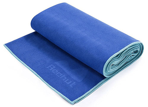 4. Reehut Hot Yoga Towel