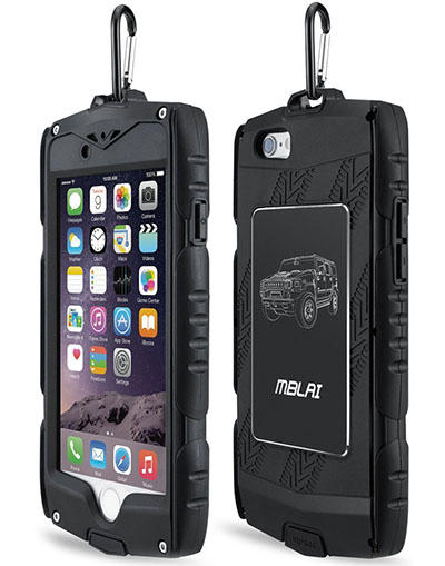 5. iPhone 6 Plus Heavy Duty Shockproof Rugged Case