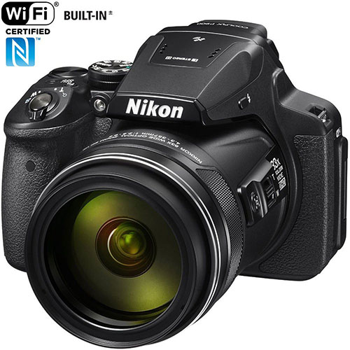 7.Nikon COOLPIX P900 16MP Super Zoom Digital Camera With 83x Optical Zoom  And Built