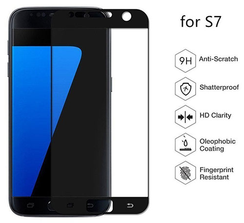 5. HD Clear Tempered Glass Screen Protector