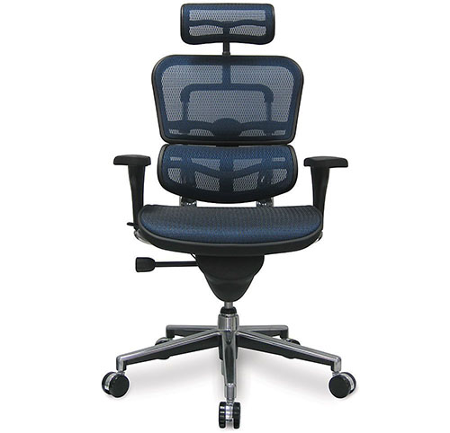 4. Ergohuman High Back Swivel Chair