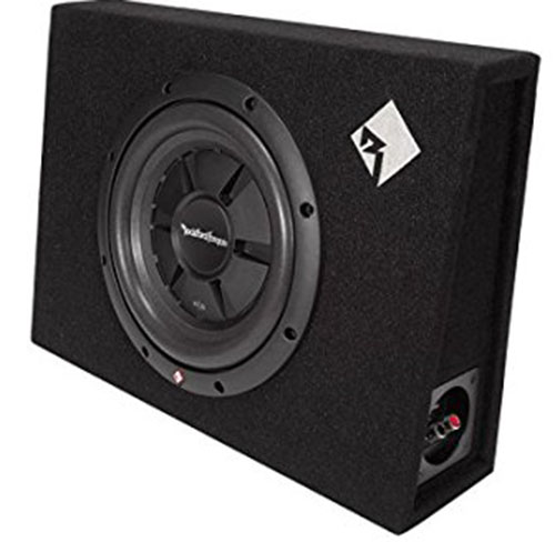 6. Rockford Fosgate Single 10-Inch Shallow Loaded