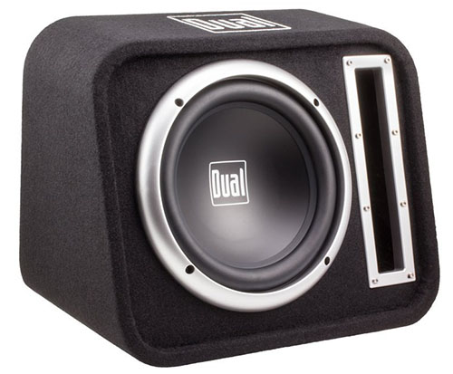 7. Dual 10-Inch Woofer In a Vented Enclosure