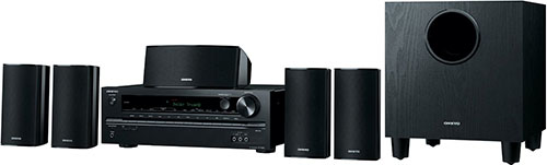 1. Onkyo 5.1-Channel Home Theater Receiver/Speaker