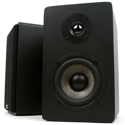 4. Micca Powered Bookshelf Speakers