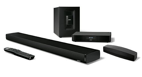 6. Bose SoundTouch 130 Home Theater System