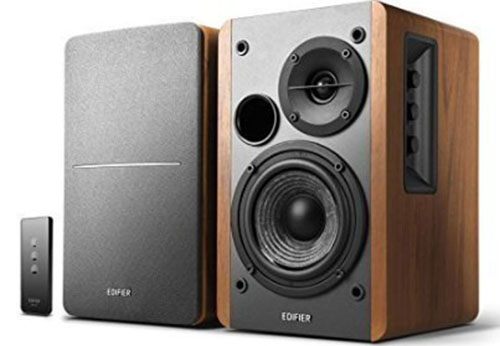 3.Edifier Powered Bookshelf Speakers