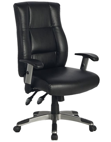 2. VIVA OFFICE Leather Executive Office Chair
